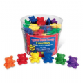 Bear Family Counter Rainbow Set of 96,numeracy resources,school numeracy resources,school classroom resources